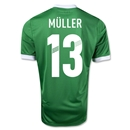 Germany 11/13 Thomas Muller Away Soccer Jersey