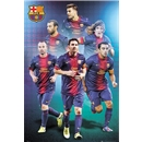 Barcelona 12/13 Players Poster