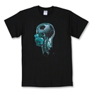 X-Ray Soccer T-Shirt (Black)