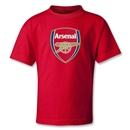 Arsenal Crest Kids T-Shirt (Red)