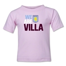 Aston Villa We Are Villa Kids T-Shirt (Pink)