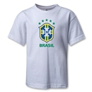 Brazil Kids T-Shirt (White)
