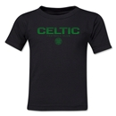 Celtic Football Club Kids T-Shirt (Black)