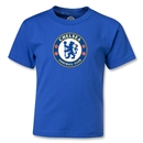Chelsea Crest Kids T-Shirt (Royal)