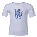 Chelsea Distressed Logo Kids T-Shirt (White)
