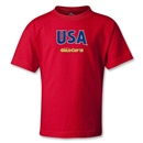 USA CONCACAF Gold Cup 2013 Kids T-Shirt (Red)