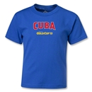 Cuba CONCACAF Gold Cup 2013 Kids T-Shirt (Royal)
