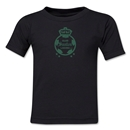 Santos Laguna Distressed Kids T-Shirt (Black)