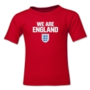 England We Are Kids T-Shirt (Red)