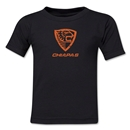 Jaguares Distressed Kids T-Shirt (Black)