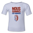 LOSC Lille We Are Kids T-Shirt (White)