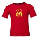 Monarcas Distressed Kids T-Shirt (Red)