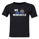 Newcastle United We Are Newcastle Kids T-Shirt (Black)