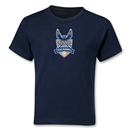 Carolina Railhawks Kids T-Shirt (Navy)