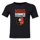 Stade Rennais FC We Are Kids T-Shirt (Black)