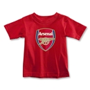 Arsenal Crest Toddler T-Shirt (Red)