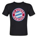 Bayern Munich Logo Toddler T-Shirt (Black)