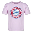 Bayern Munich Logo Toddler T-Shirt (Pink)