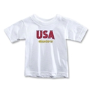 CONCACAF Gold Cup 2013 Toddler USA T-Shirt (White)