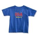 CONCACAF Gold Cup 2013 Toddler USA T-Shirt (Royal)
