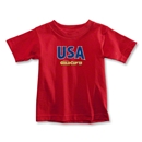 CONCACAF Gold Cup 2013 Toddler USA T-Shirt (Red)