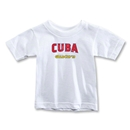 CONCACAF Gold Cup 2013 Toddler Cuba T-Shirt (White)