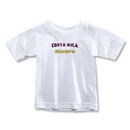 CONCACAF Gold Cup 2013 Toddler Costa Rica T-Shirt (White)