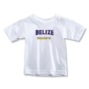CONCACAF Gold Cup 2013 Toddler Belize T-Shirt (White)
