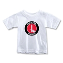 Charlton Athletic Crest Toddler T-Shirt (White)