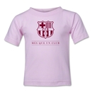 Barcelona Mes Que Un Club Toddler T-Shirt (Pink)