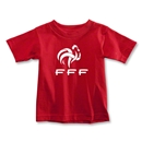 France FFF Toddler T-Shirt (Red)