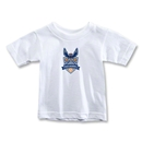 Carolina Railhawks Toddler T-Shirt (White)