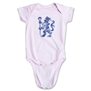 Chelsea Distressed Lion Onesie (Pink)