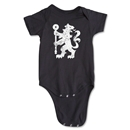 Chelsea Distressed Lion Onesie (Black)
