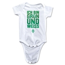Werder Bremen I Am Green and White Onesie (White)