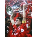Icons Steven Gerrard Signed We've Won It Five Times Photo