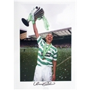 Icons Signed Henrik Larsson Celtic Photo