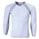 Linebreak LS Compression T-Shirt (White)