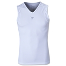 Linebreak Sleeveless Compression Tank (White)
