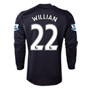 Chelsea 13/14 WILLIAN LS Third Soccer Jersey
