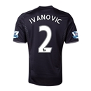 Chelsea 13/14  2 IVANOVIC Third Soccer Jersey