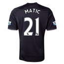 Chelsea 13/14 21 MATIC Third Soccer Jersey