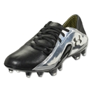Under Armour Blur CBN III FG Leather (Black/Metallic Silver/Black)