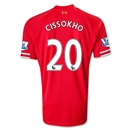 Liverpool 13/14 CISSOKHO Home Soccer Jersey