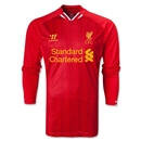 Liverpool 13/14 LS Home Soccer Jersey