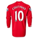 Liverpool 13/14 COUTINHO LS Home Soccer Jersey