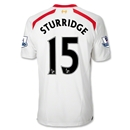 Liverpool 13/14 STURRIDGE Away Soccer Jersey