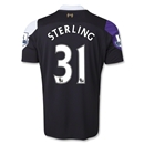 Liverpool 13/14 STERLING Third Soccer Jersey