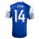 FC Dallas 2014 JOHN Replica Secondary Soccer Jersey