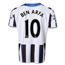 Newcastle United 13/14 BEN ARFA Home Soccer Jersey